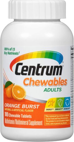Centrum Chewable Multivitamin for Adults