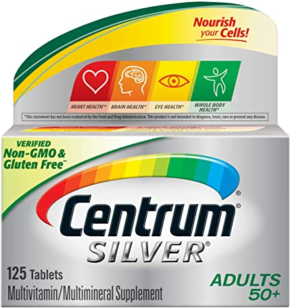 Centrum Silver Adult (125 Count) Multivitamin