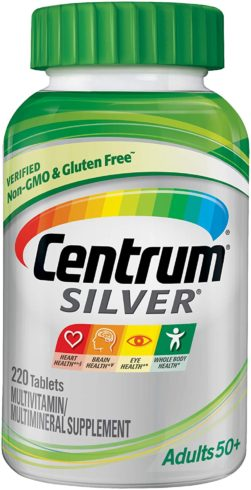 Centrum Silver Multivitamin for Adults 50 Plus