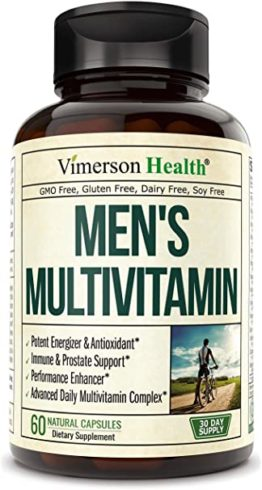 Men's Daily Multimineral Multivitamin Supplement