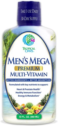 Men's Mega Premium Liquid Multivitamin