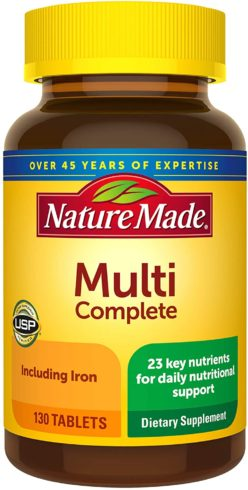 Nature Made Multivitamin Complete Tablets