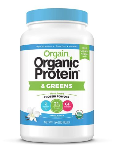 Orgain Organic Plant Based Protein & Greens Powder