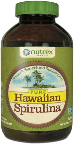 Pure Hawaiian Spirulina Powder 16 Ounce