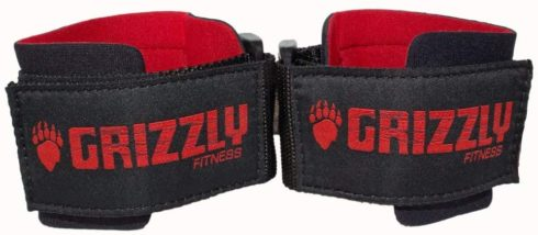 Grizzly Fitness Power Weight Training Wrist Wraps for Men and Women