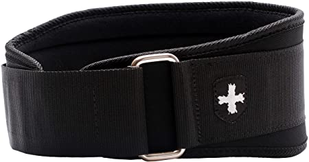 Harbinger 5-Inch Weightlifting Belt with Flexible Ultra-light Foam Core, Black, X-Large (37 - 42 Inches)