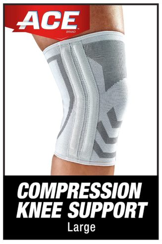 ACE-382902073550 Compression Knee Brace with Side Stabilizer