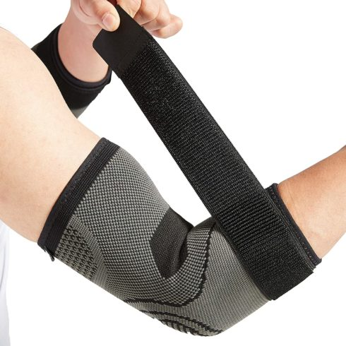 Elbow Brace with Strap for Tendonitis 2 Pack, Tennis Elbow Compression Sleeves, Golf Elbow Treatment