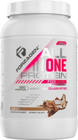 Forzagen Protein Powder for Women - Protein Shake With Collagen Powder for Women