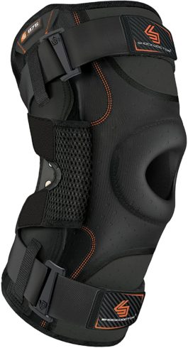 Hinged Knee Brace: Shock Doctor Maximum Support Compression Knee Brace