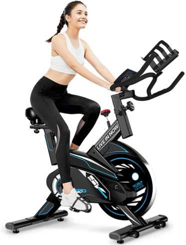 L NOW Indoor Exercise Bike Stationary