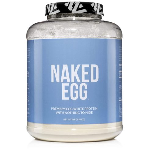 NAKED EGG – 3LB Non-GMO Egg White Protein Powder from US Farms – Bulk
