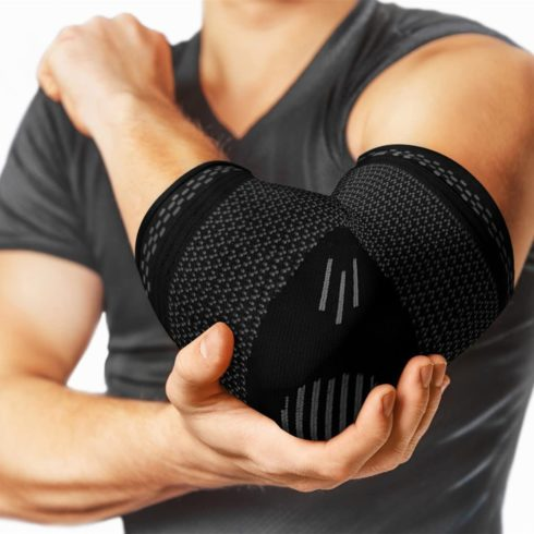 PowerLix Elbow Brace Compression Support (Pair)