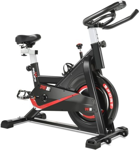 RELIFE REBUILD YOUR LIFE Exercise Bike Indoor Cycling Bike Fitness Stationary All