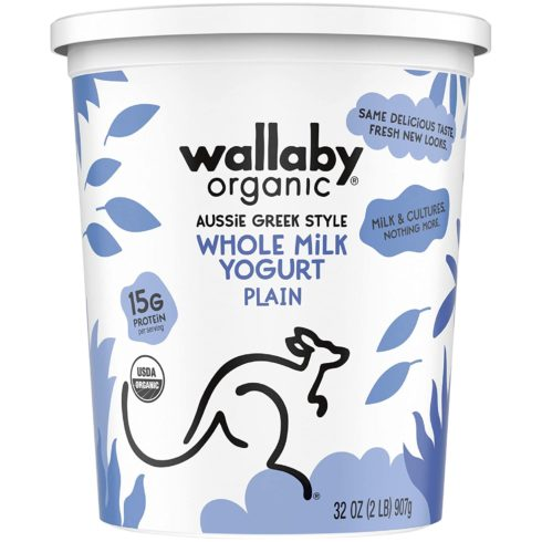 Wallaby, Yogurt Greek Plain Organic