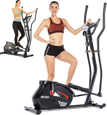 ANCHEER Elliptical,Exercise Equipment,Elliptical Machines for Home Use